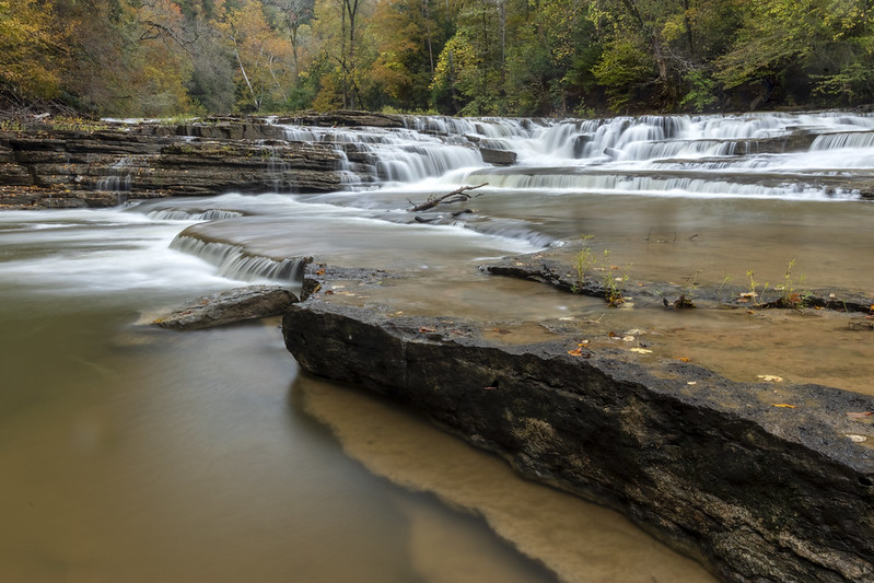 Meat Grinder Falls, Overton and Putnam County, Tennessee 6