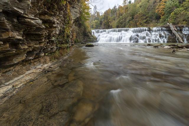 Waterloo Falls, Spring Creek, Overton County, Tennessee 19