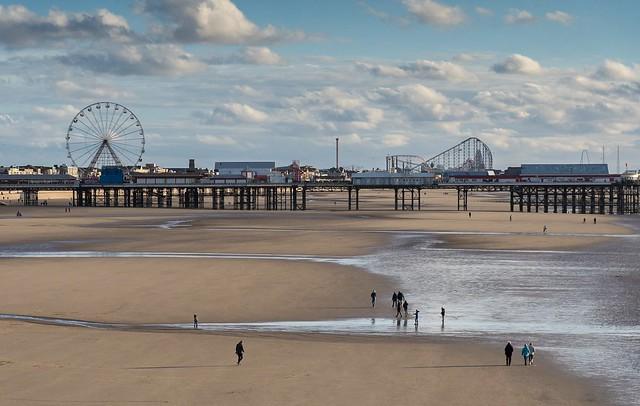 Blackpool Central Pier, Lancashire