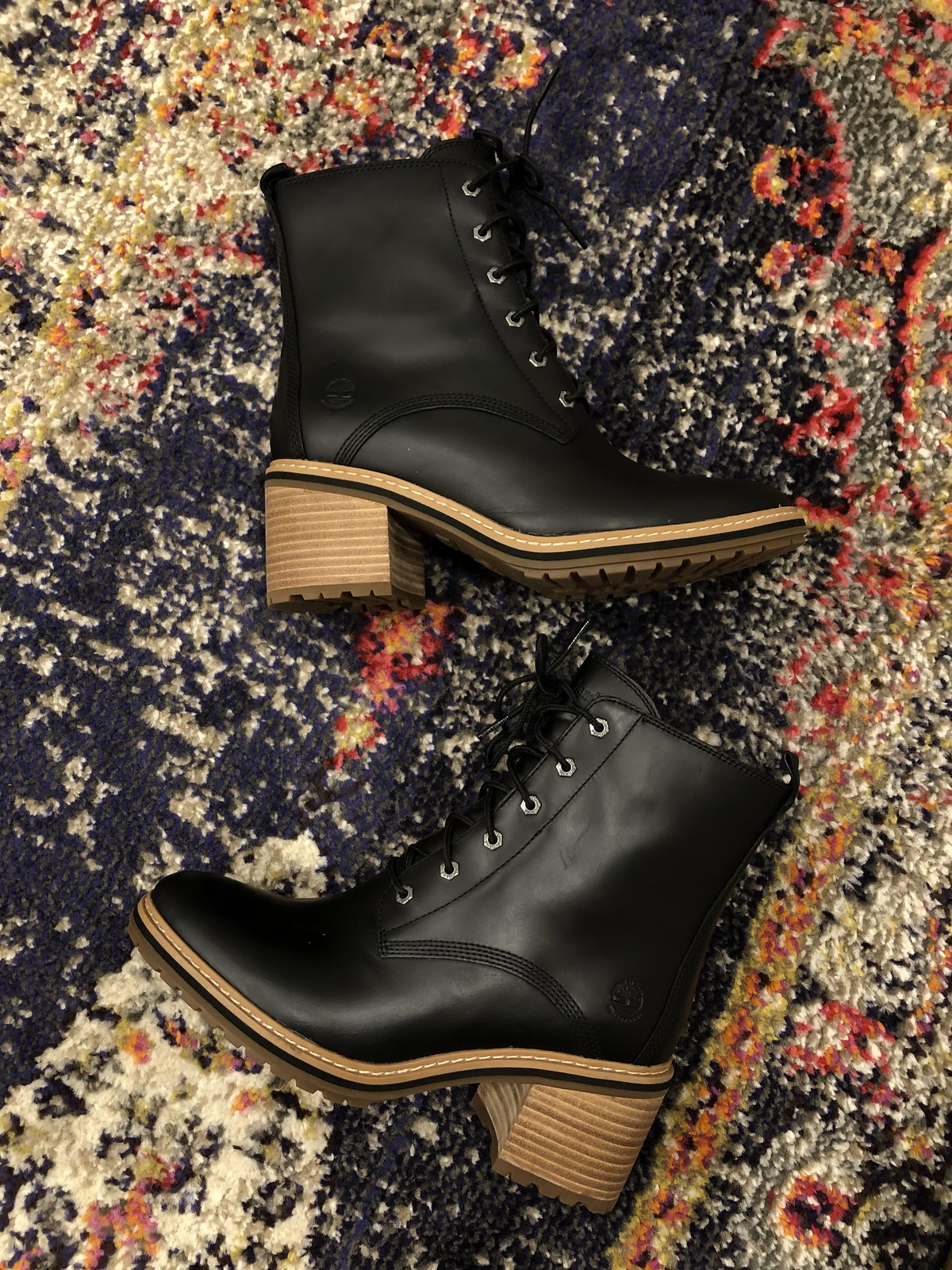 Timberland Sienna Bootie Lace Up Boots