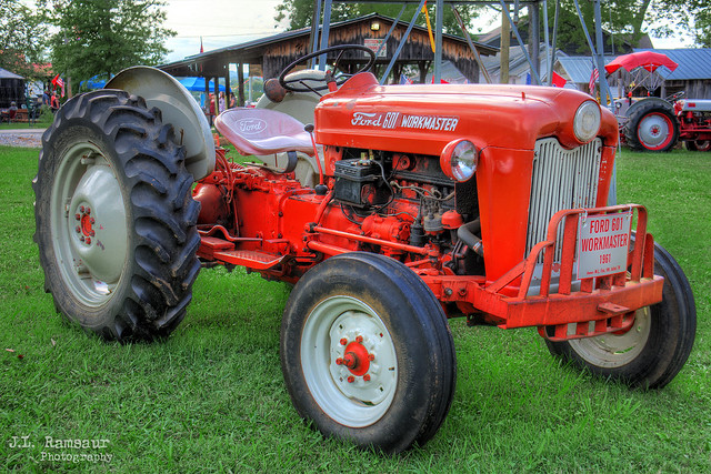1961 Ford 601 Workmaster - Wilson County Fair 2019 - Lebanon, Tennessee