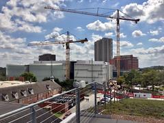 Museum of Fine Arts, Houston. Kinder Building construction