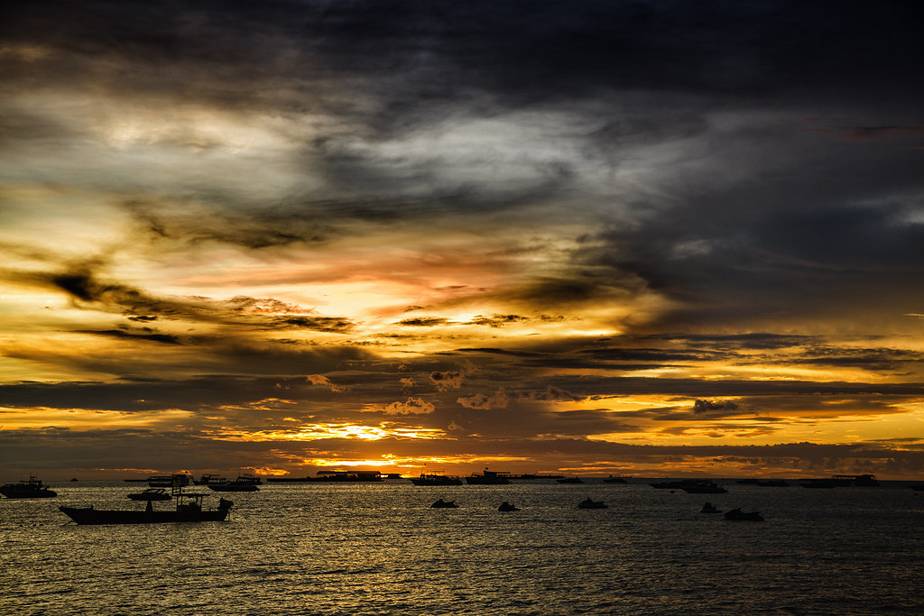 Pattaya Sunset. Thailand