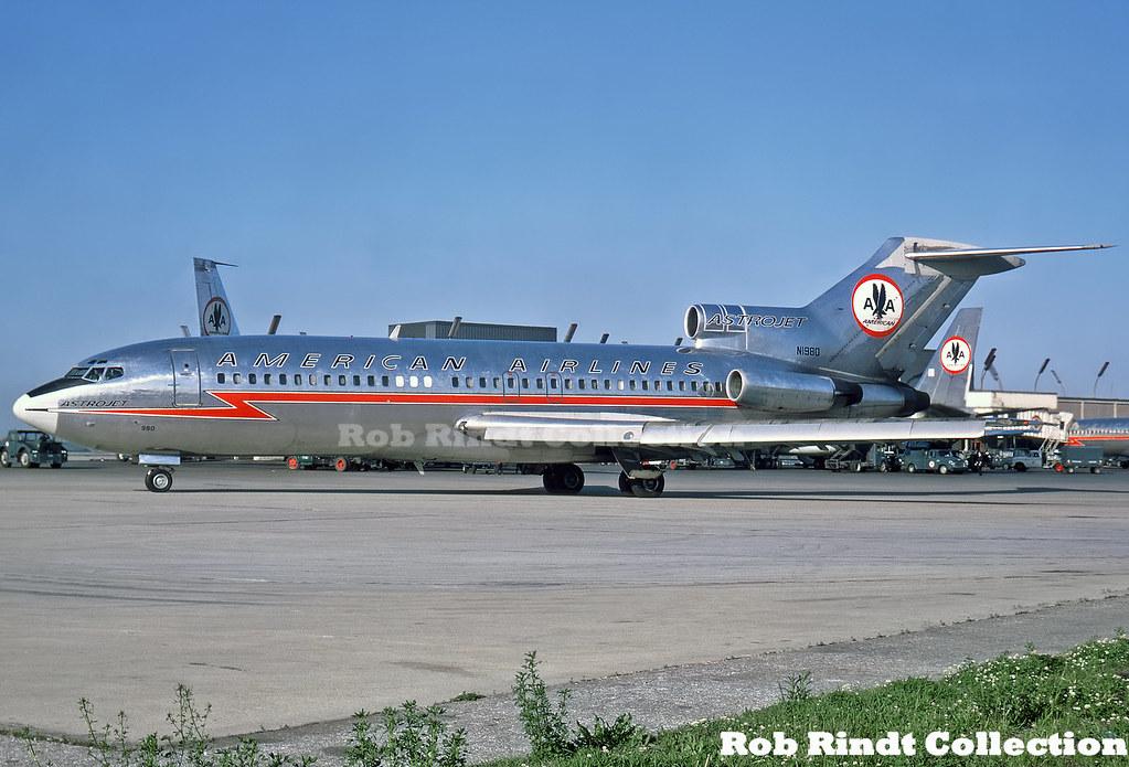 American Airlines B727-23 N1980