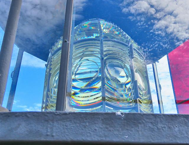 Amelia Island Lighthouse Lens