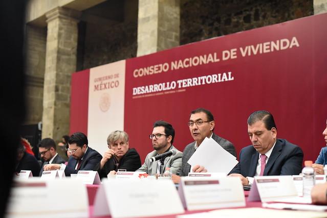 El Presidente Salvador Zamora Asistió al Consejo Nacional de Vivienda