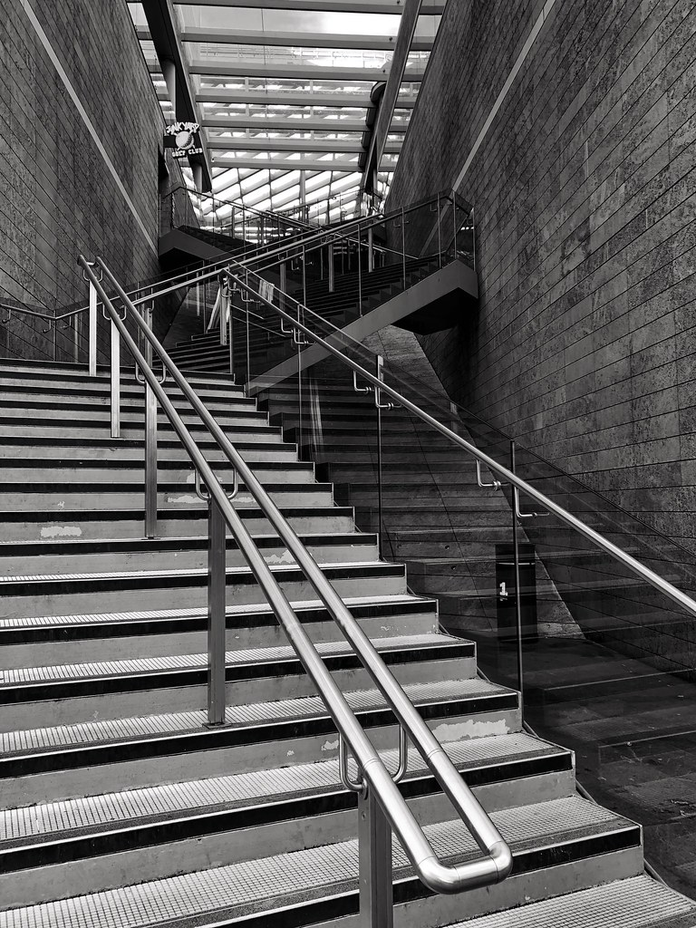 Shade Shadows Stairs | Street Photography Liverpool