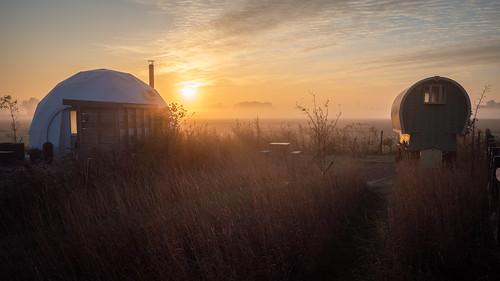 cambridgeshire camping olympus england sunrise 2019 stephenbjessop em5mk2