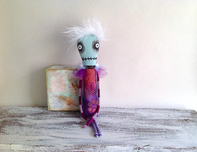 ooak handmade art doll