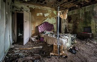 Hermiston House - abandoned in Scotland