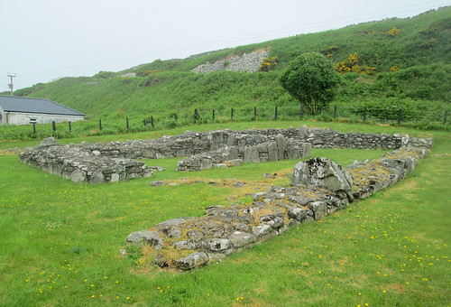Chapel Finian Foundations from Southwest