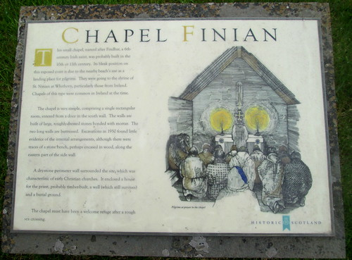 Chapel Finian Information  Board