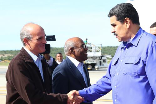 Presidente Nicolás Maduro llega a Venezuela tras histórica participación en la XVIII Cumbre del Mnoal