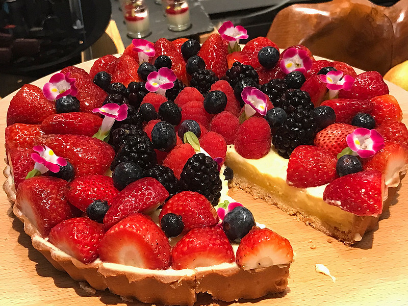 Summer Berries Pie