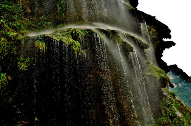 MEXICO, Yukatan , Chiapas ,  Sumidero Canyon, Steile Felsen und Wasserfälle, 19350/12037