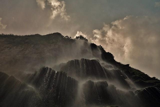 MEXICO, Yukatan , Chiapas ,  Sumidero Canyon, Steile Felsen und Wasserfälle, 19351/12038