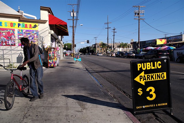 $3.00 Parking Pinata District L.A.    In Explore 10/30/19