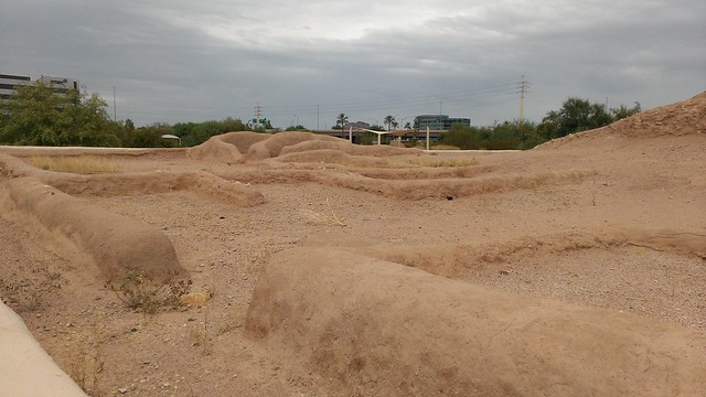 Platform Mound, Pueblo Grande Museum and Archaeological Park 8/6/2013
