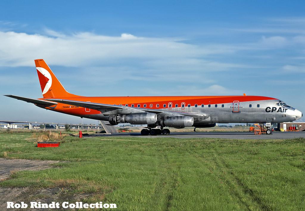 CP Air DC-8-43 CF-CPH