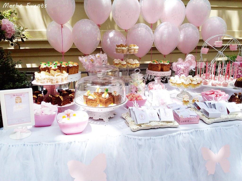 mesa dulce comunion niña merbo events