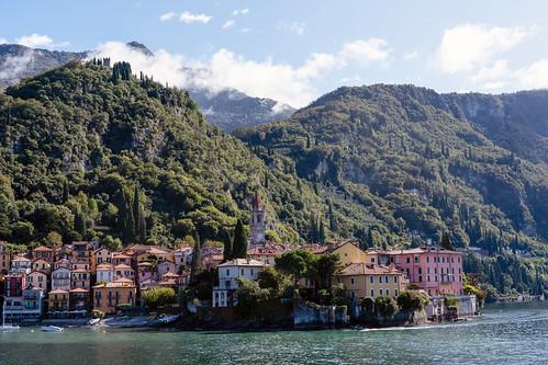 Varenna and Surrounding Mountains