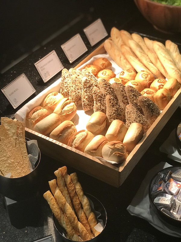 Small selection of breads and rolls