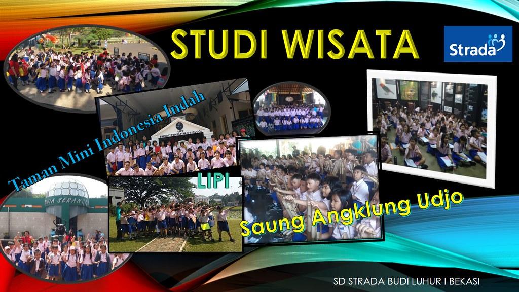 Kegiatan Studi Wisata SD Strada Budi Luhur I Bekasi