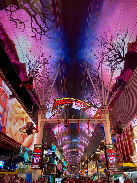 Fremont Street, October Night