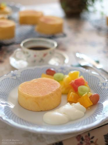 ホシノ薔薇酵母のパンケーキ 20191026-DSCT0965 (2)