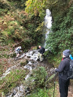 Waterfall crossing on the SWCP
