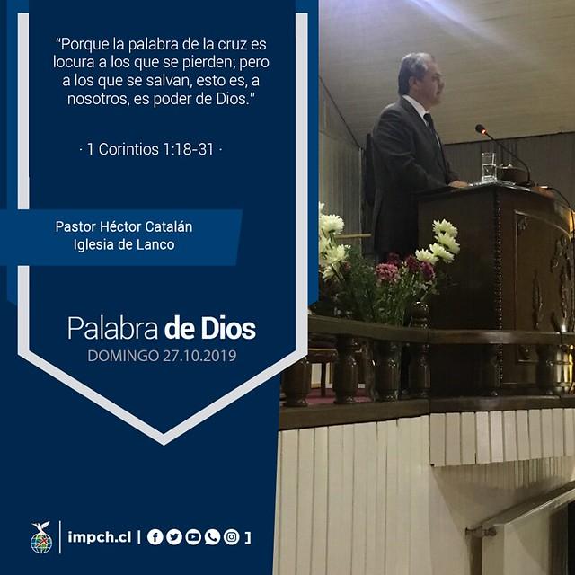 Palabra de Dios | Domingo  27 de Octubre 2019