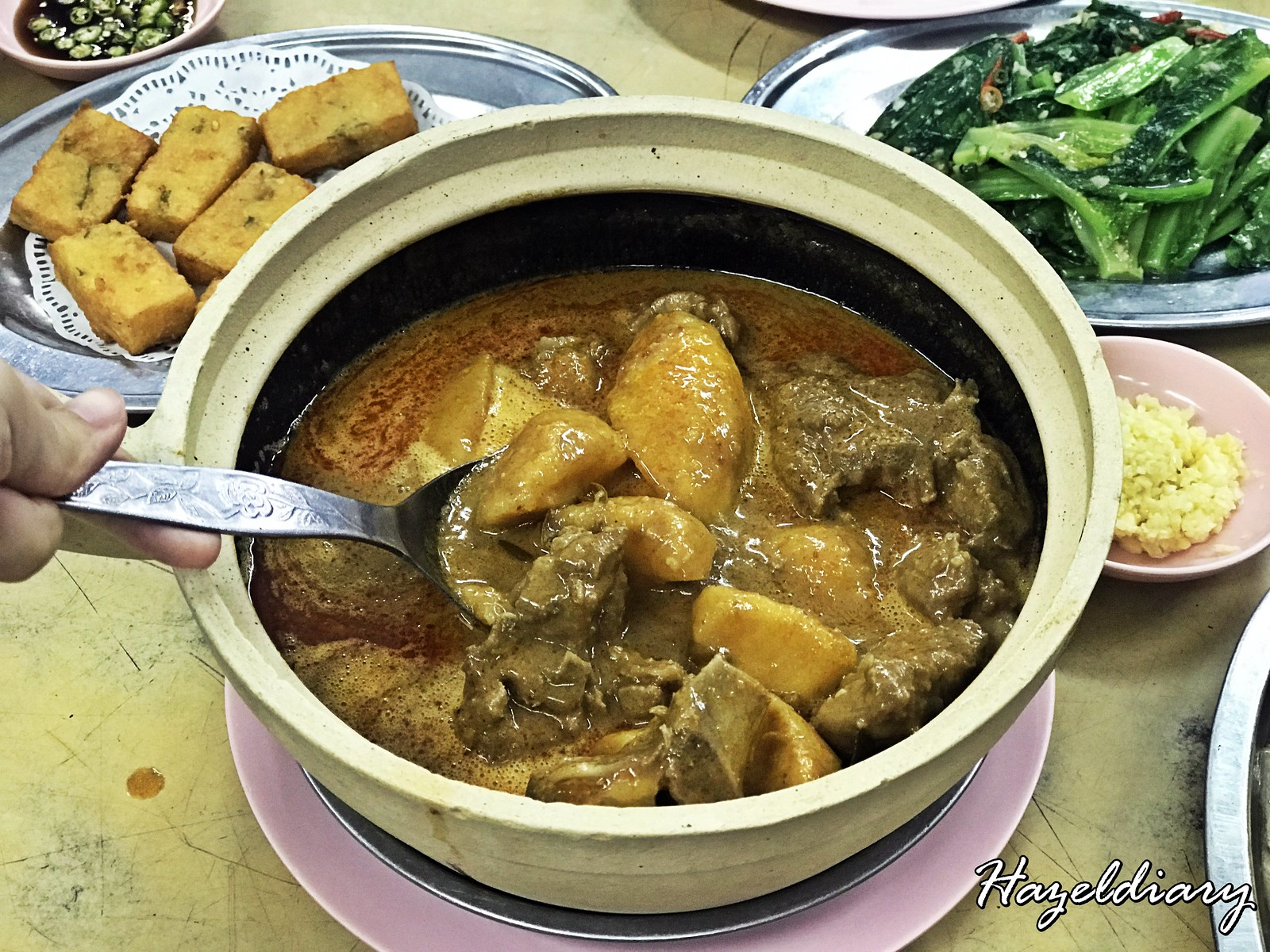Restoran Jing Seng-Curry Pork Ribs
