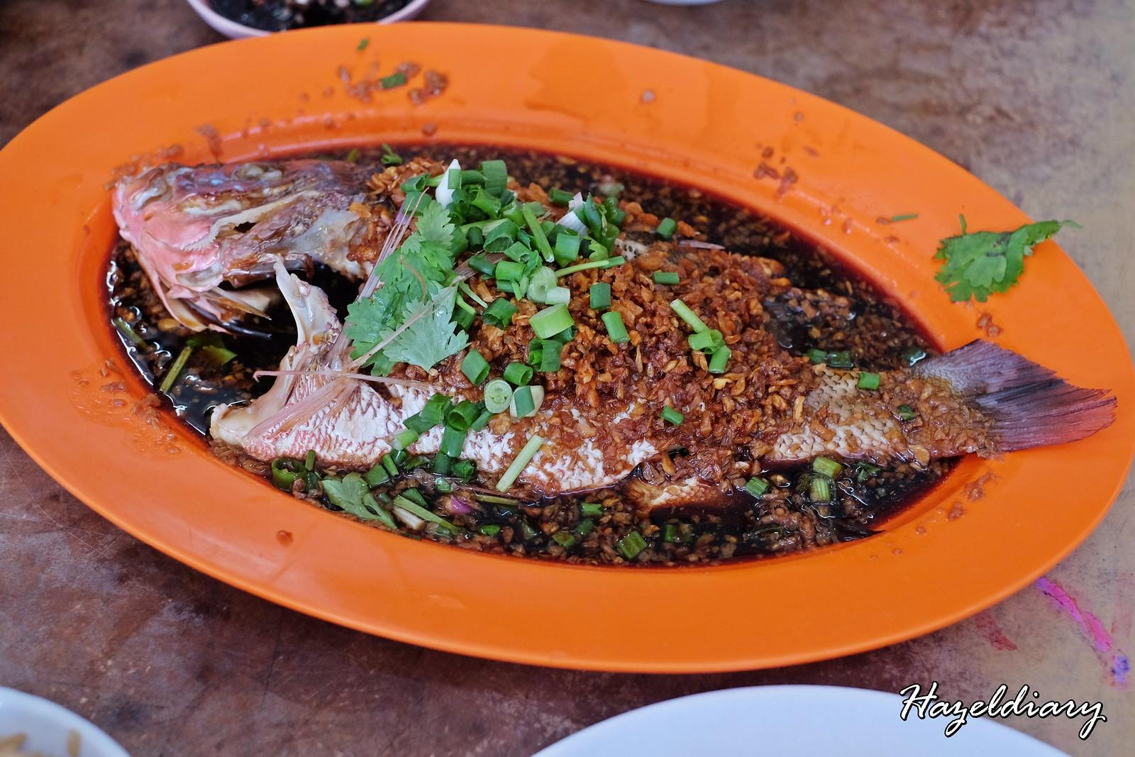 Kedai Bak Kut Teh Hin Hock-Poached Fish