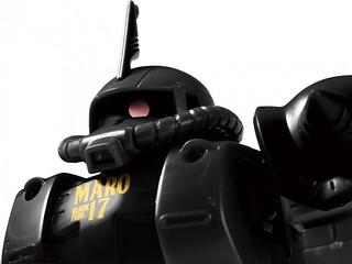 黑髮夏亞登場?日本 MARO17 x《機動戰士鋼彈》合作活動 滿額抽HG 1/144 「黑色薩克」(MARO17オリジナル 黒いシャア専用ザク)