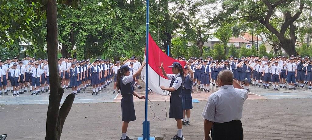 UPACARA BENDERA HARI SUMPAH PEMUDA 2019 SMP STRADA BHAKTI MULIA