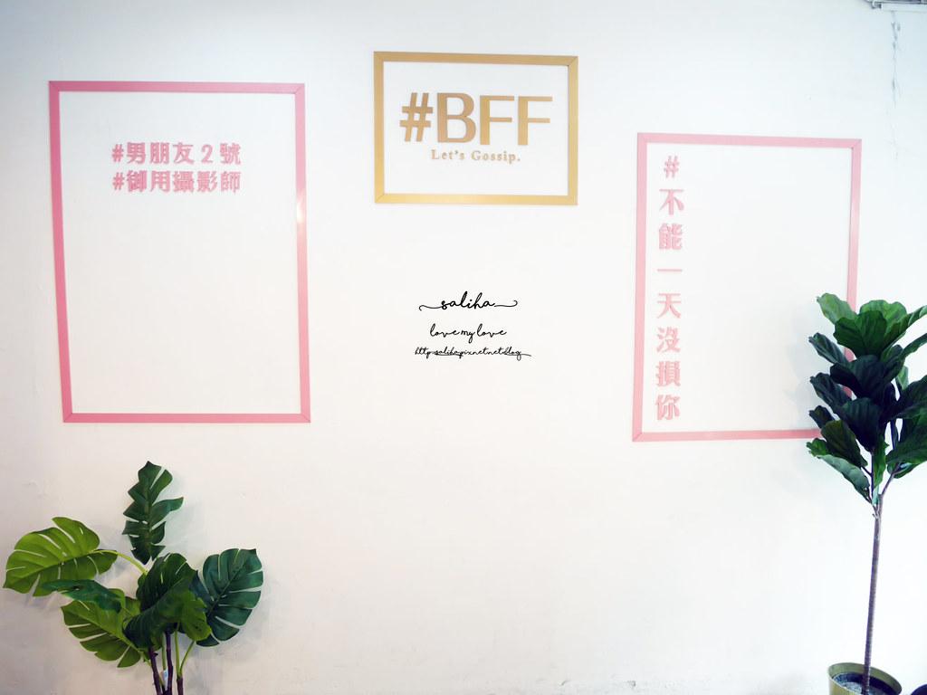 台北台大附近公館站餐廳美食好拍網美風BFF Gossip Brunch早午餐 (8)