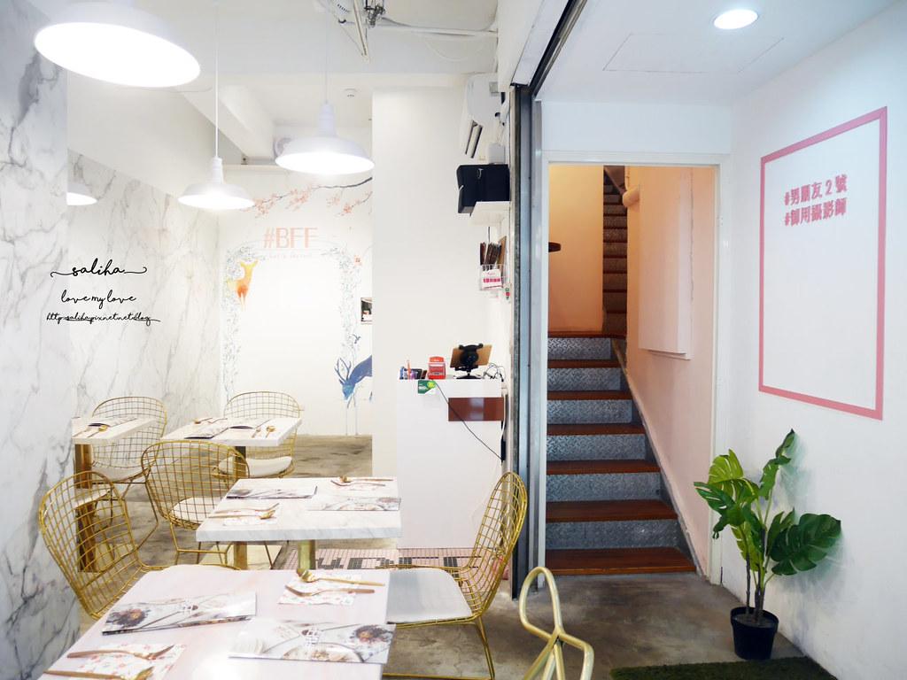 台北台大附近公館站餐廳美食好拍網美風BFF Gossip Brunch早午餐 (2)