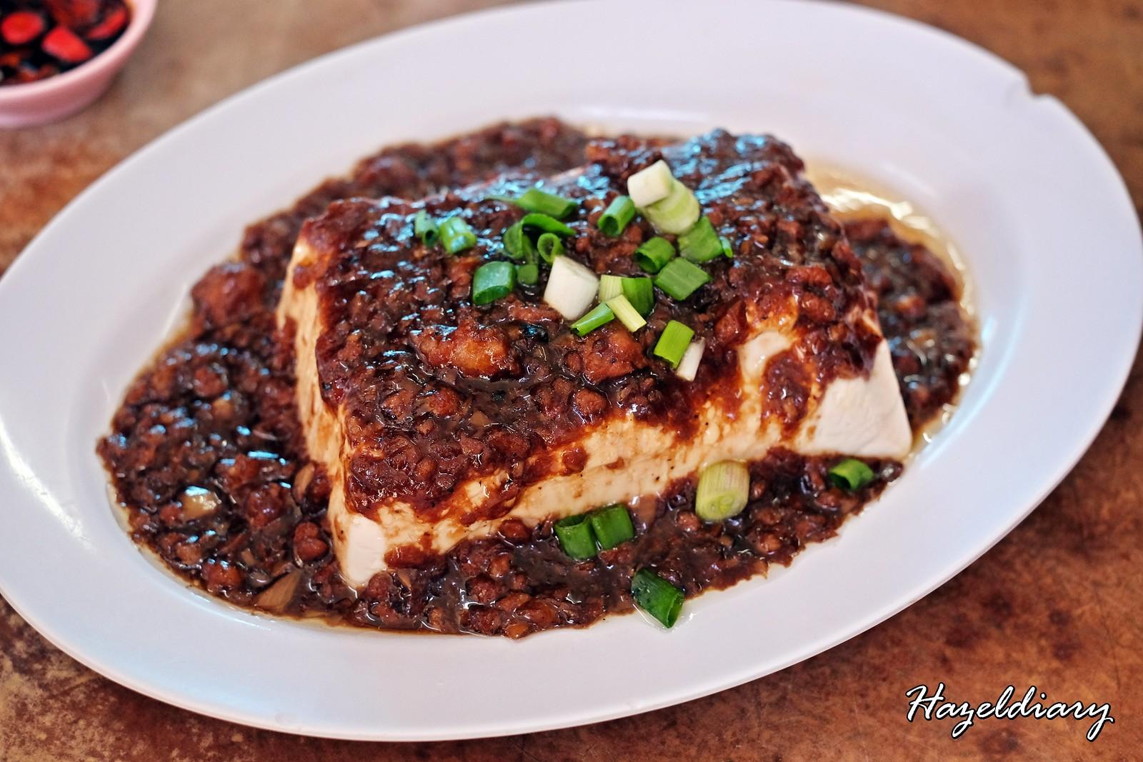 Kedai Bak Kut Teh Hin Hock-Minced meat with tofu