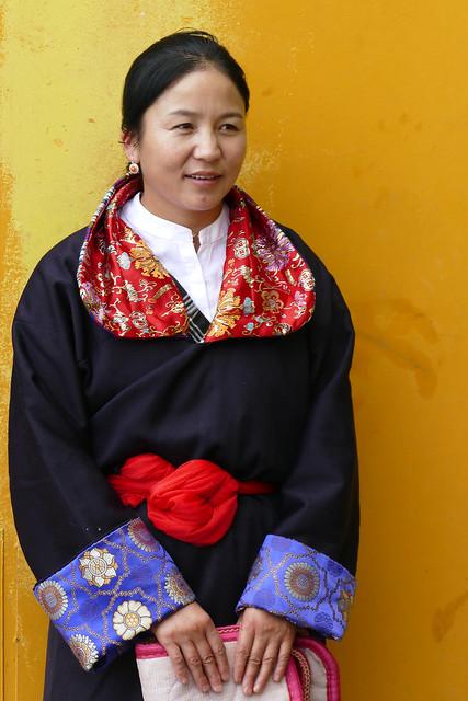 La belle tibétaine