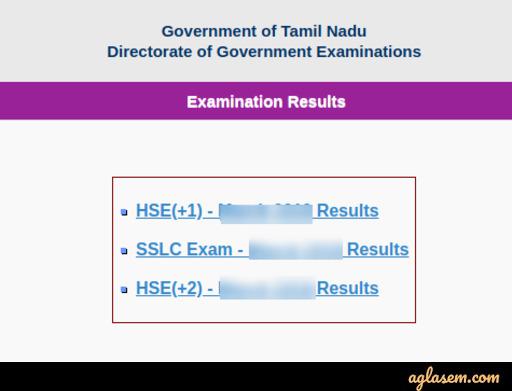Tamil Nadu Result 2020