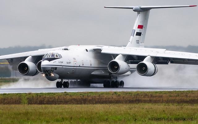 ORY | Egypt Air Force Ilyushin Il-76MF | SU-BTY