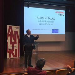 Alumni Talks mit aBR Samuel Schmid