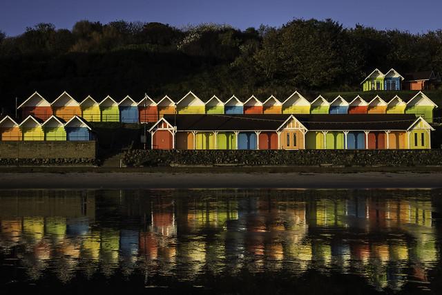 Beach Huts - Scarborough