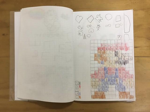 數字塗色遊戲完成!