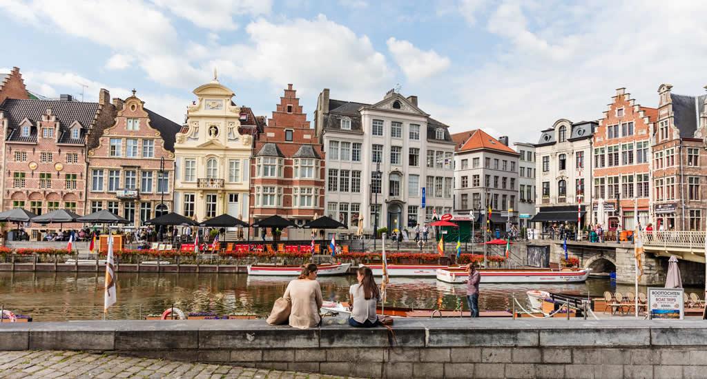 Gratis bezienswaardigheden Gent | Graslei in Gent, België