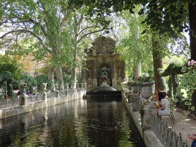 Fuente Medicis - Jardines de Luxemburgo -  Paris