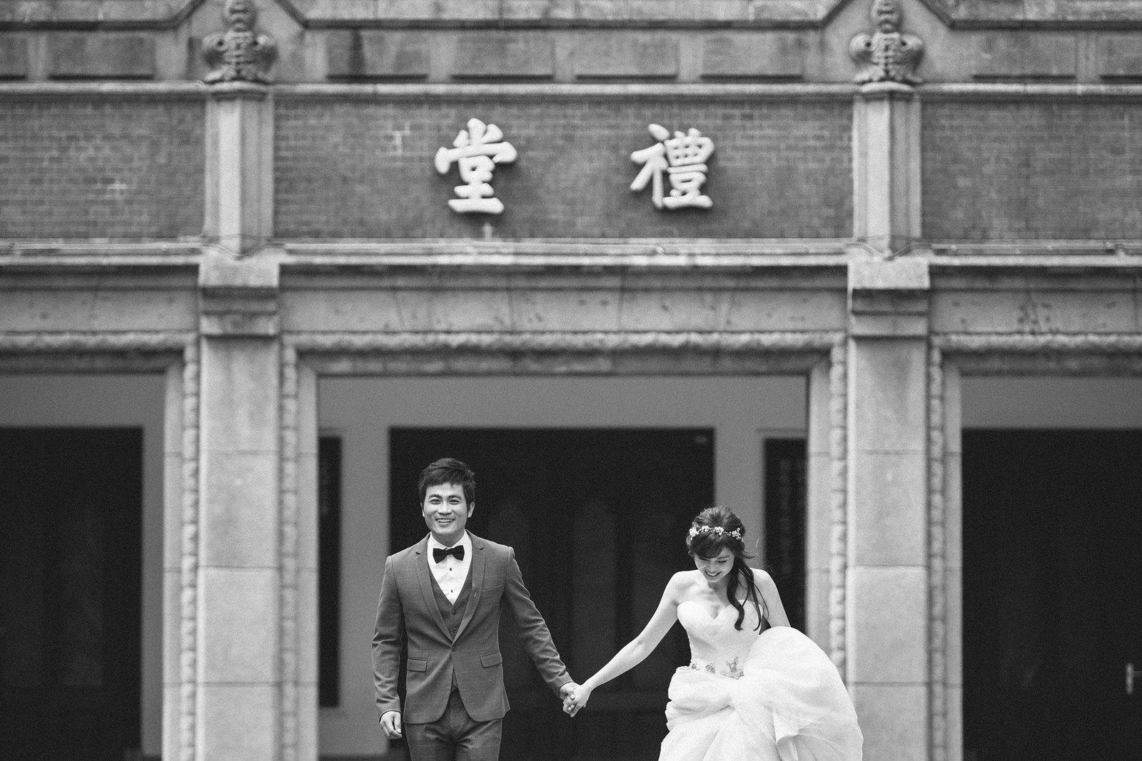 【婚紗】An & Hsuan / 青田七六(馬延英故居)/ 台師大 / 林安泰 / 陽明山