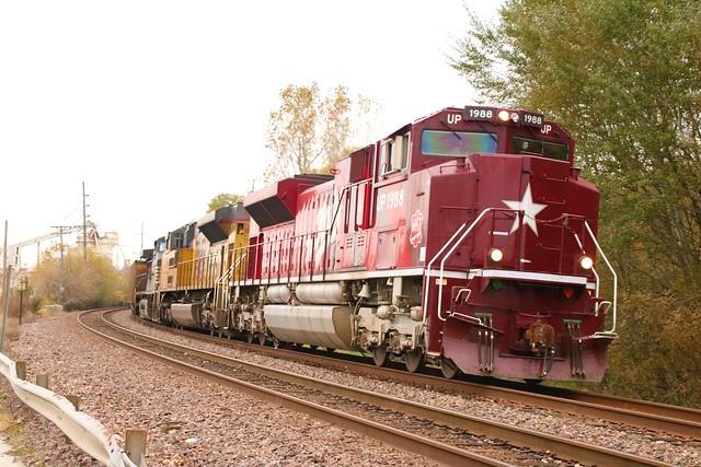 Katy on a Coal Train
