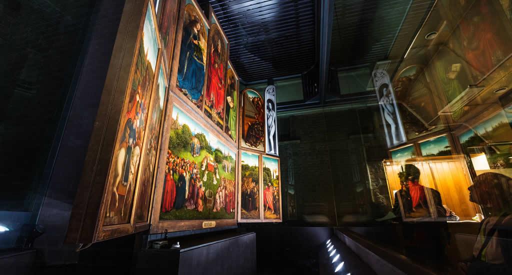 Sint-Baafskathedraal, De Aanbidding van het Lam Gods | Mooistestedentrips.nl
