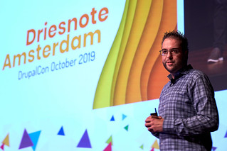 Dries(note) - DrupalCon Amsterdam 2019 | by dmsmidt
